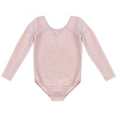 Sparkle Leotard - Desert Pink | Bella and Lace | Mini Nation