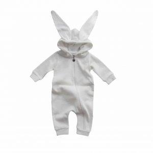 Lala Rabbit Suit Ivory