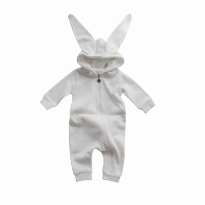 Lala Rabbit Suit Ivory