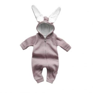 Lala Rabbit Suit Pink