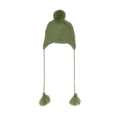 Beanie - Moss Green | Bella and Lace | Mini Nation