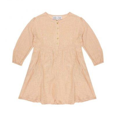 Pom Pom Dress - Wild Rose   Bella and Lace   Mini Nation