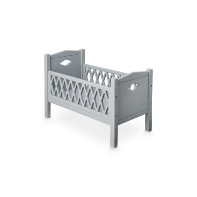 Harlequin Doll Bed - Grey