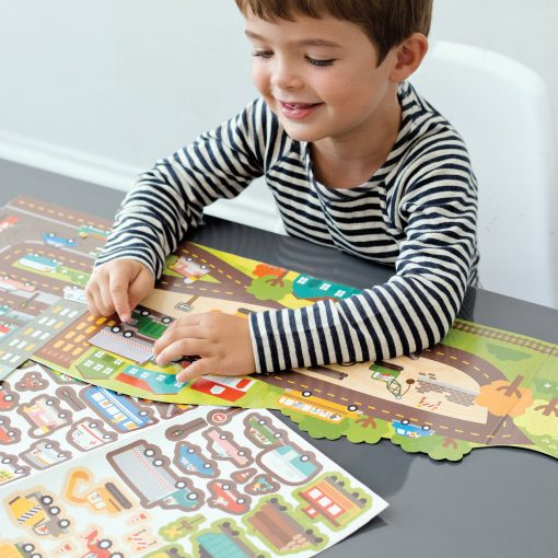 Roads and Rails Activity Set | PetitCollage