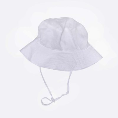 Bucket Hat - White | ALEX&ANT | Mini Nation
