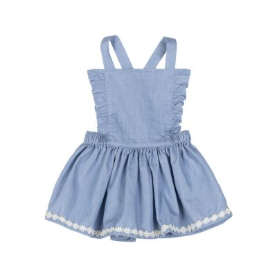 Frilled Pinafore Skirt | Paper Wings