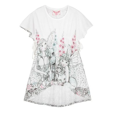 Jersey Smock Dress - Garden Fairies | Paper Wings