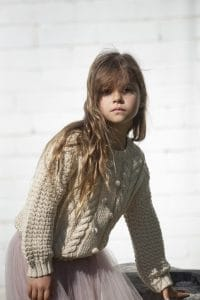 Dotty Jumper - Cashew | Bella and lace