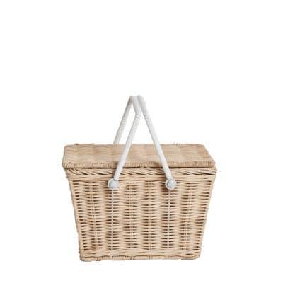 Piki Basket - Straw | Olli Ella
