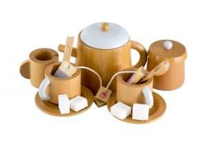 Iconic Wooden Tea Set | Make Me Iconic | Mini Nation