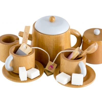 Iconic Wooden Tea Set | Make Me Iconic | Mini Nation
