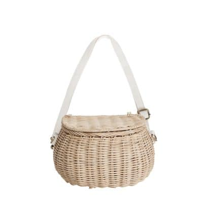 Minichari Bag - Straw | Olli Ella