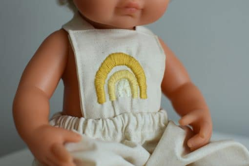 Doll Overalls by Little Boho Rainbow | Mini Nation