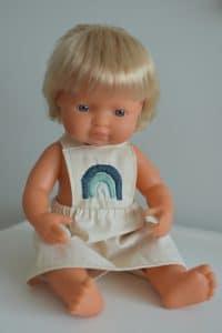 Doll Pinafore by Little Boho Rainbow | Mini Nation
