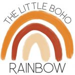 The Little Boho Rainbow Logo | Mini Nation
