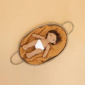 Doll Nyla Basket by Olli Ella | Mini Nation